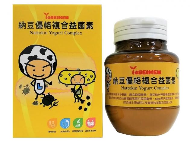 納豆優格複合益菌素 Nattokin Yogurt Complex 1
