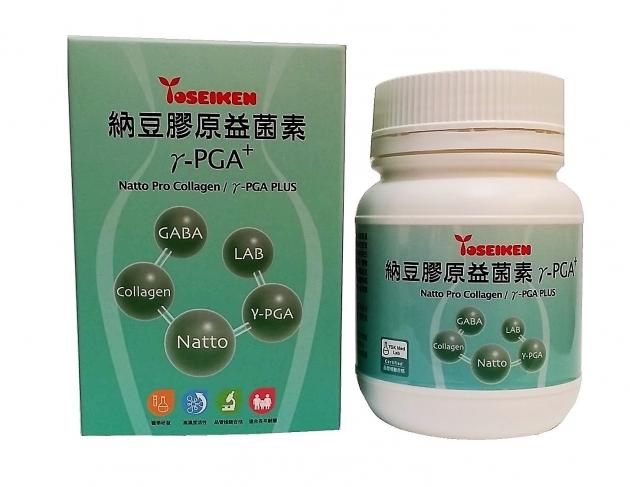 納豆膠原益菌素γ-PGA+ ( Natto Pro Collagen/γ- PGA PLUS) 1