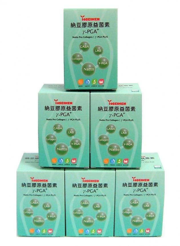 納豆膠原益菌素γ-PGA+ ( Natto Pro Collagen/γ- PGA PLUS) 3